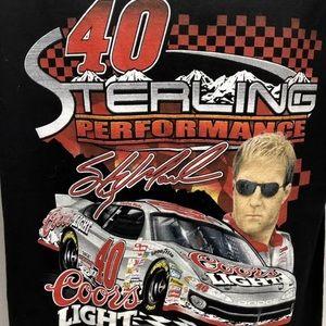 Sterling Marlin #40 M Coors Light NASCAR T-Shirt